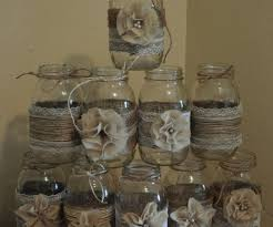 Medium Size Of Assorted Mason Jar Burlap Wedding Rustic Together With Set And Lace