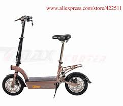 2016 New 300W 36V Hub Motor Electric Scooter Bike 12AH Lead Acid Battery 2