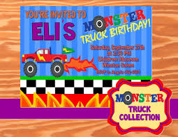 MONSTER Truck - Truck Birthday - Monster Truck INVITATION – Krown ... Free Printable Birthday Cards With Monster Trucks Awesome Blaze And The Machines Invitations Templates List Truck Party 50 Unique Ideas Cookie Free Pvc Invites Vip Invitation Novel Concept Designs Mud Thank You Card Truck Party Printable