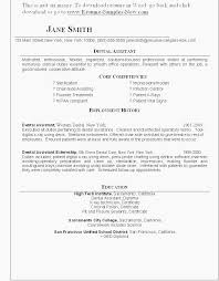 Executive Assistant Resume Objective Fresh Resumes Skills Examples 0d For