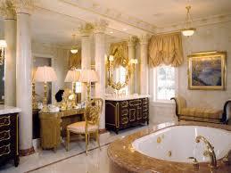 Bathroom Vanity Tower Ideas by Glamorous Design Ideas Using Round White Bathtubs And Rectangular