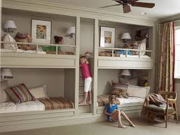 rooms bunk beds and built ins
