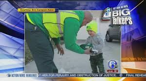 100 Garbage Trucks In Action 2yearold Fan Of Garbage Trucks Gets Special Surprise From