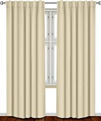 105 Inch Drop Curtains by Amazon Com Blackout Room Darkening Curtains Window Panel Drapes