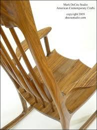 Sam Maloof Rocking Chair Video by A Sam Maloof Inspired Rocking Chair Walnut Rocker 2 By Mark A