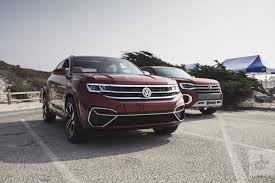 Volkswagen Atlas Cross Sport And Tanoak Concepts Drive Impressions ...