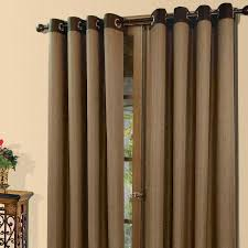 Brylane Home Grommet Curtains by Curtains With Grommets Home Design Ideas And Pictures