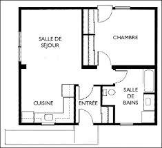 plan de maison 4 chambres avec 騁age plan maison 1 騁age 3 chambres 59 images plan maison plain