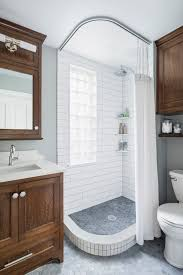 Shower Curtain Ideas For Small Bathrooms 75 Beautiful Shower Curtain Pictures Ideas May 2021 Houzz