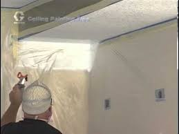 airless paint sprayer for ceilings how to paint a ceiling with a graco magnum paint sprayer