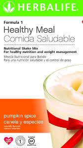 Pumpkin Spice Herbalife Shake Calories by Herbalife Formula 1 Pumpkin Spice Seasonal Flavor Place Your