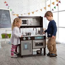 Kidkraft Grand Gourmet Corner Kitchen Play Set by Amazon Com Kidkraft Toddler Play Kitchen With Metal Accessory Set