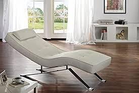relax liege weiß lounge sofa leder design moebel