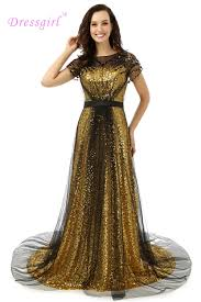 popular prom evening gown gold buy cheap prom evening gown gold