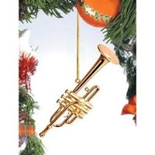 Gold Bb Trumpet Tree Ornament Hiddentreasuresdecorandmore Christmas Ornaments