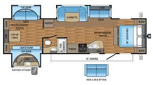 Jayco 2014 Fifth Wheel Floor Plans by 100 Jay Flight Trailers Floor Plans Two Bedroom Rv Floor