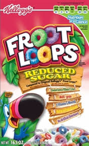 Toucan Sam Appearing On Froot Loops Cereal Box