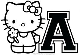 Hello Kitty Printable Coloring Pages Free Party Invitations Activity Sheets Paper Crafts Fans World Halloween