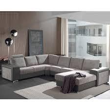 canape panoramique canapé panoramique gris en tissu sofamobili