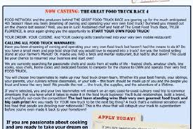 The Great Food Truck Race Seeks Would-Be Food Trucks - Eater Boston Food Network Stars Reveal Their Favorite Trucks Around The My Friends In Truck Race The Organic Artists Blog Great Seeks Wouldbe Eater Boston Why Hk Food Truck Scheme Is Doomed To Fail Hawaii Chef Makes Another Appearance On Reality Show Builder M Design Burns Smallbusiness Owners Nationwide Featured Restaurants Twin Cities On Road With Wikipedia Zsus Vegan Pantry Trucks Vegan Seabirds Tacos