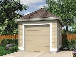 1 Car Garage Plans