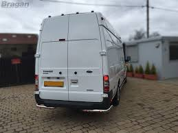 100 Truck And Van Accessories To Fit 07 14 Ford Transit MK7 Stainless Steel Rear Corner Bars