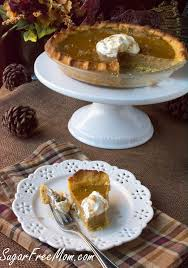 Pumpkin Pie Without Crust And Sugar by Low Carb Sugar Free Pumpkin Pie