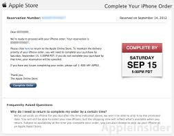 Apple iPhone 5 available for pre order some ers experience issues