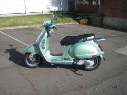 These Pictures Represent 2006 GT200 In Vintage Green Mine 1966 Vespa 150 Periwinkle 2004 Honda Metropolitan My Wifes
