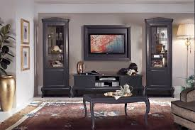 vintage wohnzimmermöbel mokko wohnwand im modernen barock