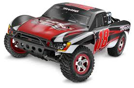 100 Slash Rc Truck Traxxas Kyle Busch Edition RC Car Action