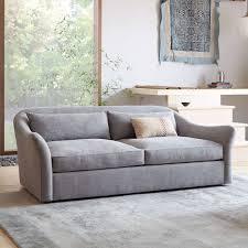 West Elm Bliss Sofa Bed by Designer Love Luster Velvet
