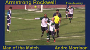 100 Andre Morrison Armstrong Rockwells Man Of The Match 51218 YouTube