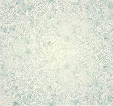 Vintage Floral Background Stock Vector