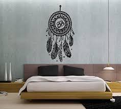 wandtattoo traumfänger federn hindu vogel om sticker vinyl wall decor fototapete vinyl schlafzimmer wandtattoo dekoration für zuhause