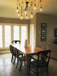Decoration And Design Ideas Modern Light Fixtures Dining Room Table Lighting Casual