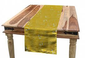 abakuhaus tischläufer esszimmer küche rechteckiger dekorativer tischläufer blätter oak leaf ahorn bäume skizze kaufen otto