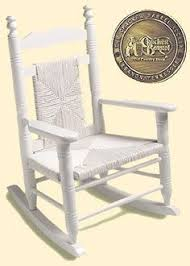 hang this clever stained wood rocking chair wind chime from any