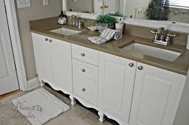 Diy Bathroom Vanity Tower by Diy Furniture Style Cabinet