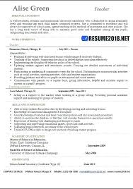 University Teacher Resume Examples With Of Teaching Free Elementary