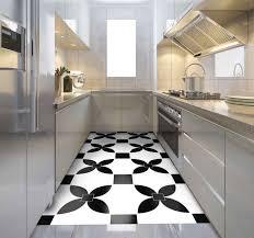 vinyl teppich küche schwarz bedruckter vinyl teppich mit straßenf