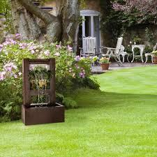 Blumfeldt Lemuria Fontaine Décorative De Jardin Avec Cascade Deau