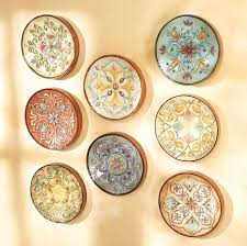 Magnificent Ideas Decorative Wall Plates Set Cool Design French