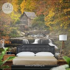wall ideas forest wall mural nz mystic forest wall mural photo