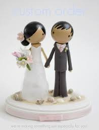 Edible Etsy Wedding Cake Toppers Bridesmaid Trade Blog
