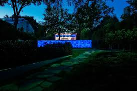 Recycled Glass Garden Wall Art It Glows At Night