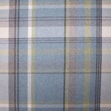 Yellow Dotted Swiss Curtains by Skye Heather Wool Touch Blue Yellow Grey 2728 Uk Fabric