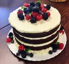 wine velvet cake with mascarpone buttercream