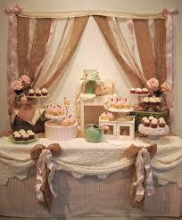Rustic Chic Wedding Dessert Table Jadeite Pink