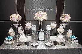 Danielle Jeffreys Elegant White Silver Wedding